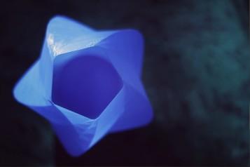 3D printed Lamp made using Creator Bot