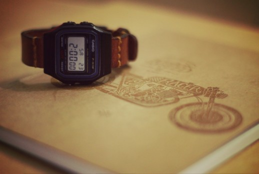 Casio F-91W Reinterpreted