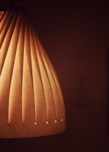 Lasercut Paper Lamp
