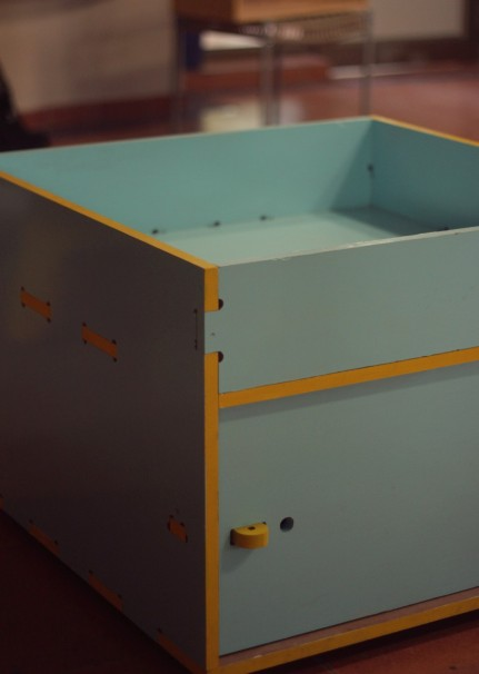 Storage 1 with open top compartment