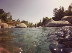 Down the stream