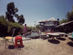 Kids enjoying the pool in Ghoomakad