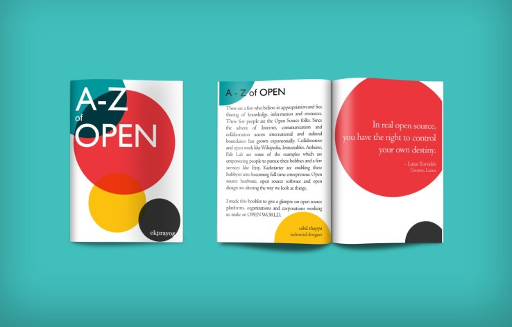 A-Z of OPEN Booklet