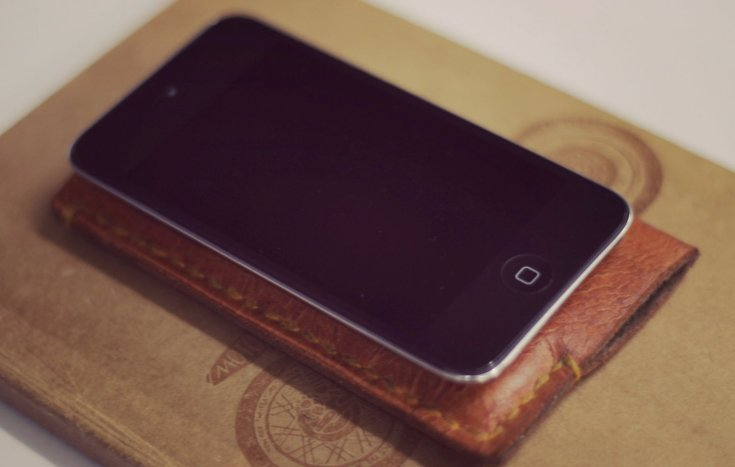 Leather & Felt iTouch Cover 3