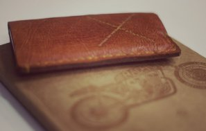 Leather & Felt iTouch Cover