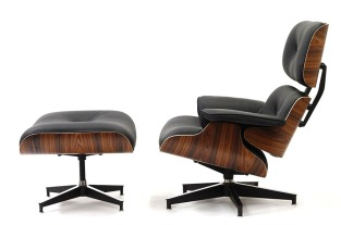 Charles & Ray Eames Lounge chair & Ottomam