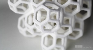 Sugar Lab 3D Printed edible geometry