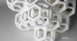 Sugar Lab 3D Printed edible geometry
