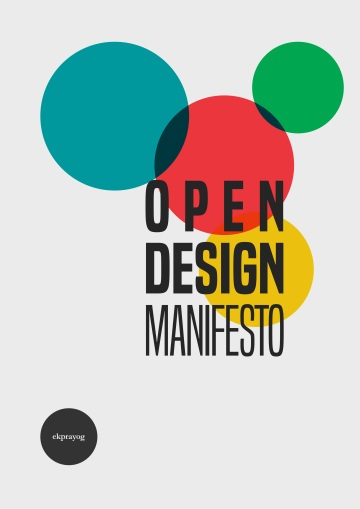 Open Design Manifesto 01