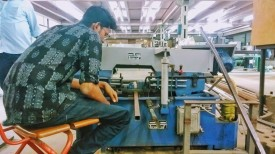 Swayam cutting slots in box section metal tube