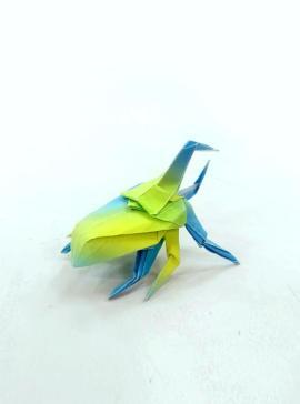Origami Hercules Beetle