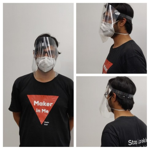 Modified Open Face PPE